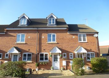 Thumbnail 3 bed terraced house for sale in Oak Avenue, Hampton Hargate, Peterborough