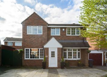 Thumbnail 4 bedroom detached house for sale in The Drive, Barwell, Leicester