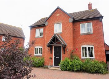 Thumbnail 3 bed detached house for sale in Angrave Crescent, Stoney Stanton