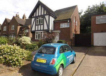 Thumbnail 3 bed detached house to rent in Valley Road, Sherwood, Nottingham