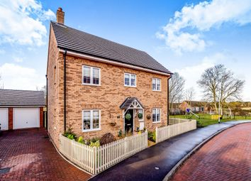 Thumbnail 4 bedroom detached house for sale in Chamberlain Way, Shortstown, Bedford