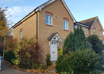 Thumbnail 3 bed end terrace house to rent in Thurlow Close, Saxmundham