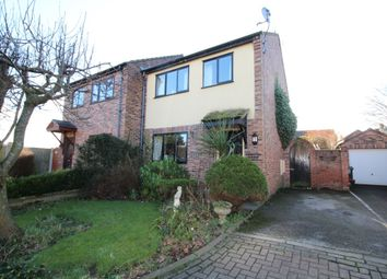 Thumbnail 3 bed semi-detached house for sale in Churchfields, Barnton, Northwich