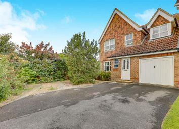 Thumbnail 4 bedroom semi-detached house for sale in The Oaks, Burgess Hill