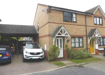 Thumbnail 2 bedroom end terrace house for sale in Wansbeck Close, Stevenage