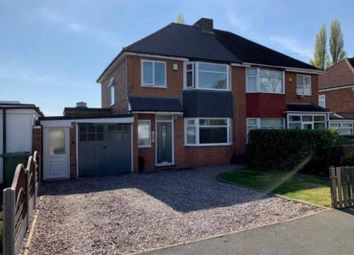 Thumbnail 3 bed semi-detached house to rent in Chester Road, Birmingham
