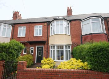 Thumbnail 4 bed terraced house for sale in Bath Terrace, Gosforth, Newcastle Upon Tyne