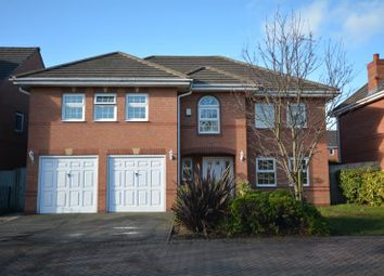 Thumbnail 5 bed detached house for sale in Liverpool Road, Neston