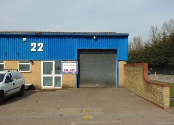 Thumbnail Industrial to let in Unit 22, Robert Leonard Industrial Estate, Stock Road, Southend-On-Sea