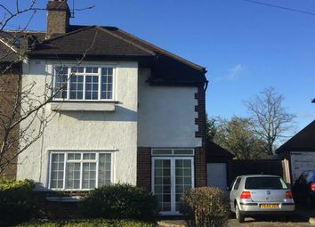 Thumbnail 3 bed semi-detached house for sale in Oakwood Crescent, Winchmore Hill, London
