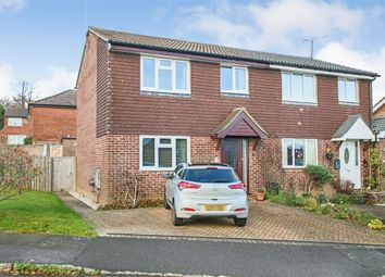 Thumbnail 3 bed semi-detached house for sale in Cranston Way, Crawley Down, West Sussex