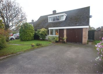 Thumbnail 4 bed detached house for sale in Leomansley View, Lichfield