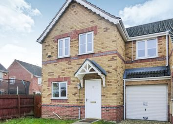 Thumbnail 3 bedroom semi-detached house for sale in Greenwich Close, Scunthorpe