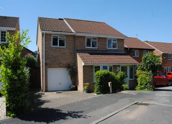 Thumbnail 4 bed detached house for sale in Marigold Close, Woodhall Park, Swindon