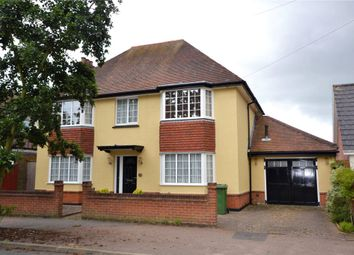 Thumbnail 4 bed detached house for sale in Beatrice Avenue, Felixstowe, Suffolk