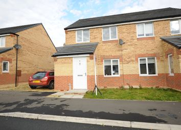 Thumbnail 3 bedroom semi-detached house for sale in Scholars Court, Ushaw Moor Durham