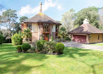 Thumbnail 5 bedroom detached house for sale in Crichel Mount Road, Evening Hill, Poole, Dorset