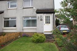 Thumbnail 2 bed flat to rent in Whiteshaw Avenue, Carluke