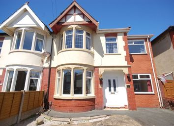 Thumbnail 5 bedroom semi-detached house for sale in Woodstock Gardens, Blackpool
