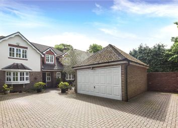 Thumbnail 4 bedroom detached house for sale in Finchampstead Road, Finchampstead, Wokingham