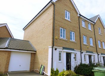 Thumbnail 3 bed end terrace house to rent in Lima Way, Peterborough
