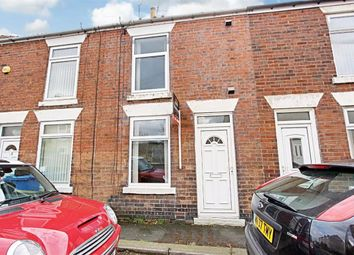 Thumbnail 2 bed terraced house to rent in Cross London Street, New Whittington, Chesterfield, Derbyshire