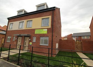 Thumbnail 3 bed semi-detached house for sale in Haughton Road, Darlington