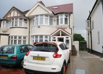 Thumbnail 4 bed flat to rent in Chestnut Grove, Wembley