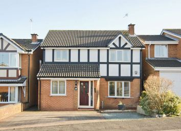 Thumbnail 4 bed detached house to rent in St. George Drive, Hednesford, Cannock