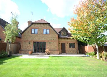 Thumbnail 4 bedroom detached house for sale in Little Foxes, Finchampstead, Berkshire