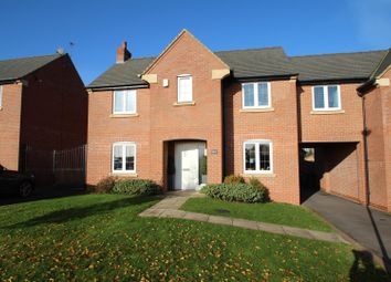 Thumbnail 4 bed link-detached house for sale in Manor Holt Close, Rothley, Leicester