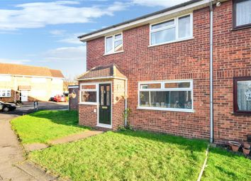 Thumbnail 4 bed semi-detached house for sale in Aldergrove Walk, Hornchurch, Essex