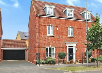 Thumbnail 5 bed detached house for sale in Ashmead Road, Brickhill, Bedfordshire
