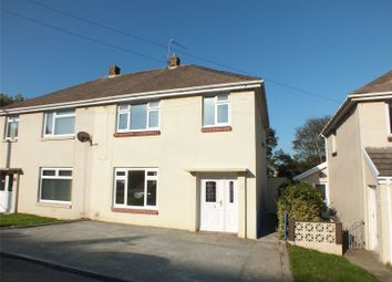 Thumbnail 3 bed semi-detached house to rent in Coombs Drive, Milford Haven, Pembrokeshire