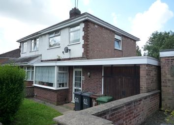 Thumbnail 3 bedroom semi-detached house to rent in Wheatley Avenue, Corby