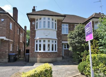 Thumbnail 3 bed semi-detached house for sale in Slades Rise, Enfield