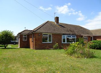 Thumbnail 3 bed semi-detached bungalow for sale in Meadow Close, Worthing, West Sussex