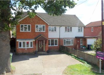 Thumbnail 4 bed semi-detached house for sale in Hamesmoor Road, Camberley