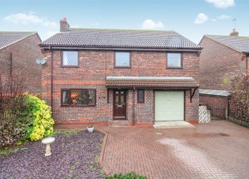 Thumbnail 4 bed detached house for sale in Back Lane, Skerne, Driffield