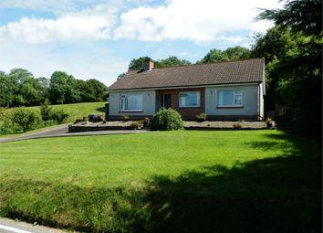 Thumbnail 4 bed detached bungalow for sale in Genau'r Glyn, Felinfach, Lampeter, Ceredigion