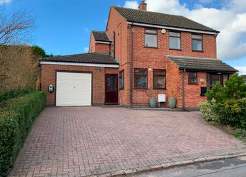 Thumbnail 3 bed detached house for sale in King Street, Twyford, Melton Mowbray