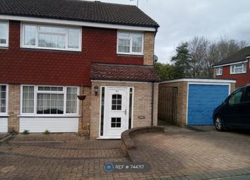 Thumbnail 3 bed semi-detached house to rent in Greenbank Road, Watford