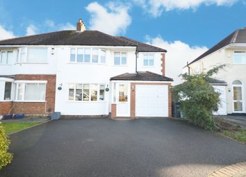 Thumbnail 4 bed semi-detached house for sale in Antony Road, Shirley, Solihull