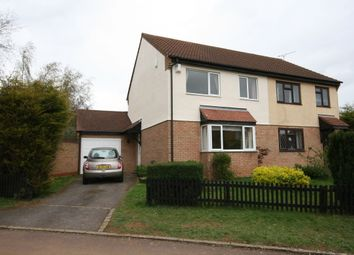Thumbnail 3 bed semi-detached house to rent in Amberley Court, Banbury