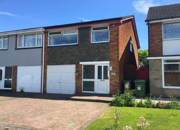 Thumbnail 3 bed semi-detached house for sale in Denise Drive, Kingshurst, Birmingham