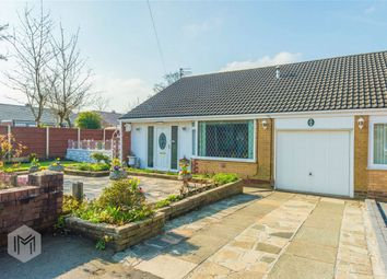 Thumbnail 2 bed semi-detached bungalow for sale in Mayfield Avenue, Farnworth, Bolton, Lancashire