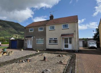 Thumbnail 2 bed semi-detached house for sale in 3 Craighorn Road, Alva, 5DL, UK
