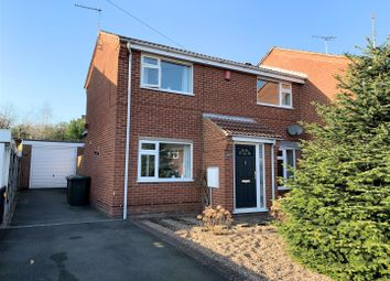 Thumbnail 3 bed semi-detached house for sale in Fairfield Crescent, Newhall, Swadlincote