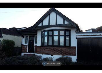 Thumbnail 2 bed bungalow to rent in Elmbridge Avenue, Surbiton