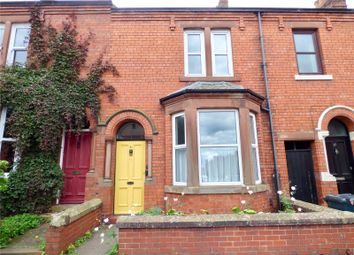 Thumbnail 3 bed terraced house to rent in Thornton Road, Carlisle